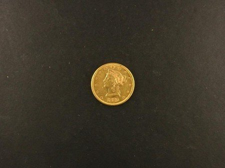 1016: 1880-S $10 US Gold Coin, COLLECT!