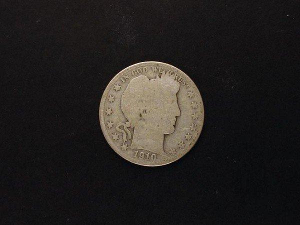1034: GOV: 1910 Half Dollar Coin, COLLECTABLE!!