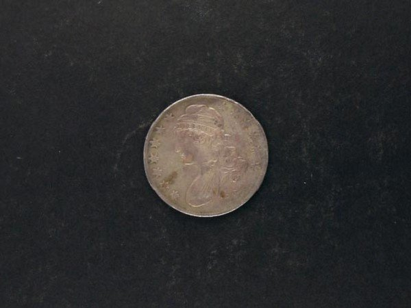 1046: 1834 Busted Half Dollar Coin, COLLECT!