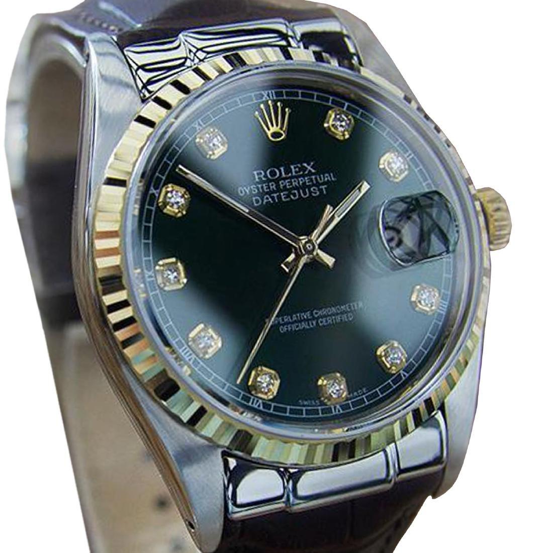 *Rolex Ref 16030 Swiss Made Men's 18K Gold and SS