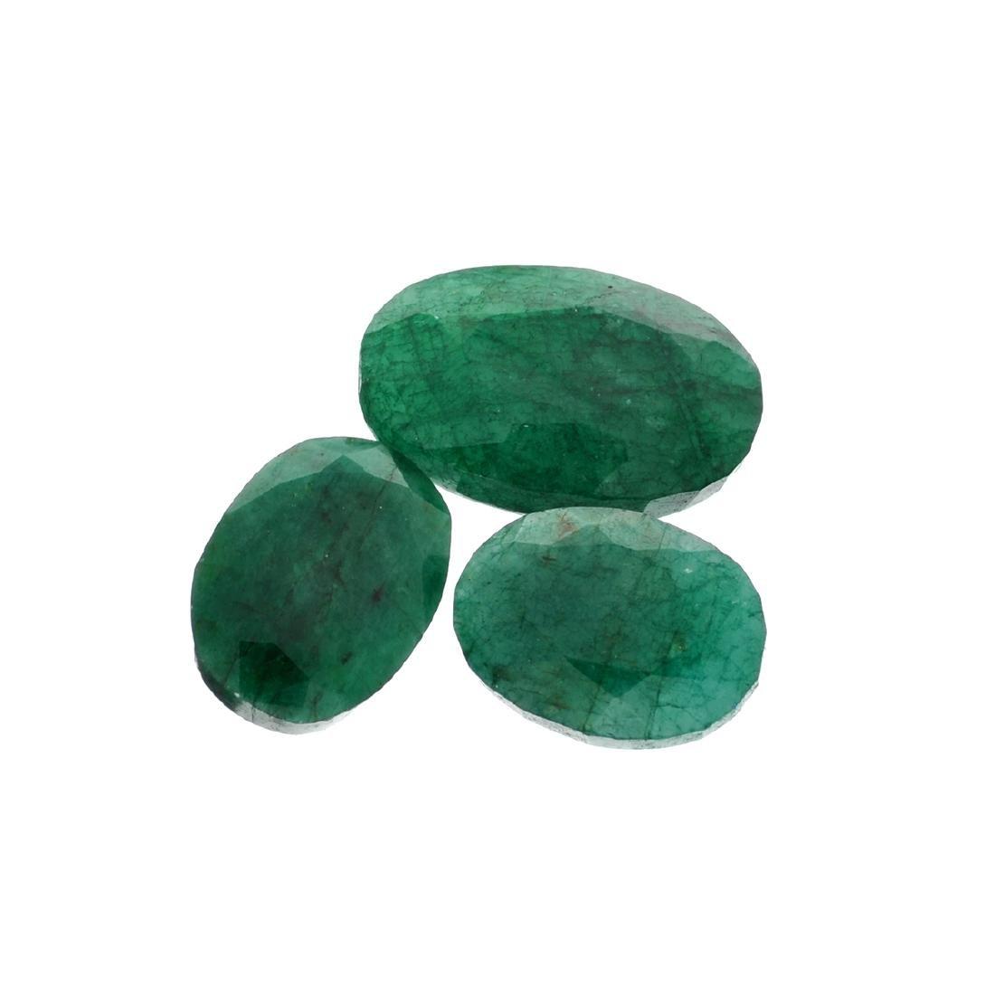 APP: 7.9k 105.49CT Various Shapes Green Emeral Parcel-