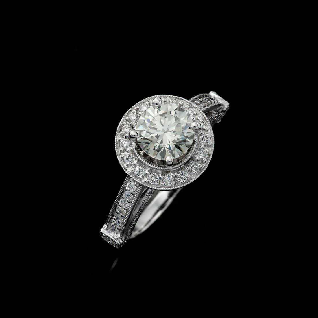 APP: 23.6k *Fine Jewelry 18KT White Gold, 1.89CT Round
