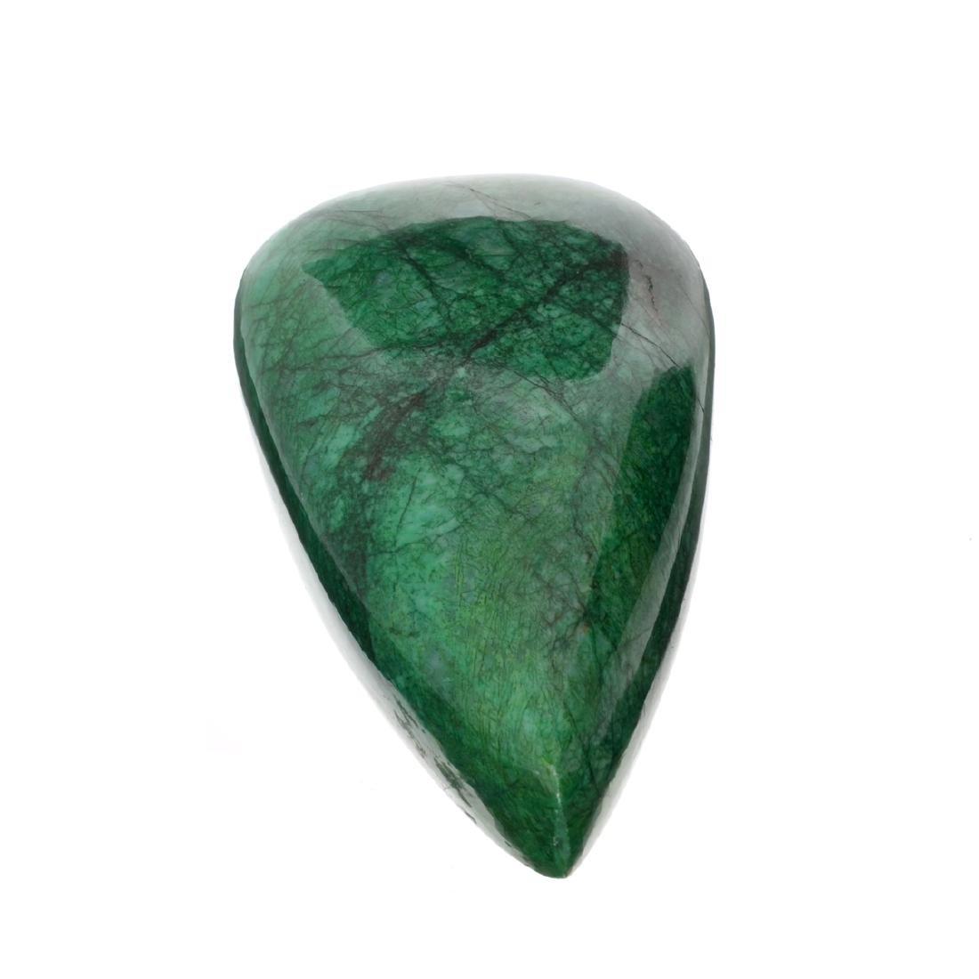 APP: 10.4k 2,189.50CT Pear Cut Cabochon Green Beryl