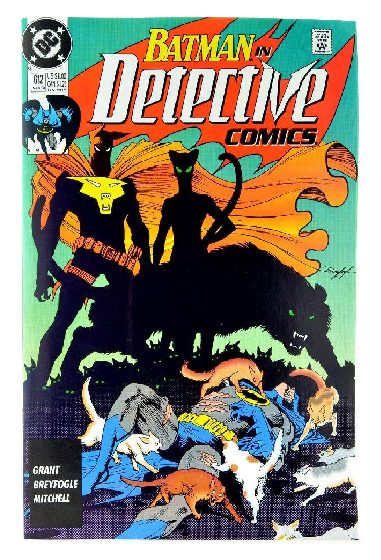 Detective Comics (1937 1st Series) Issue 612