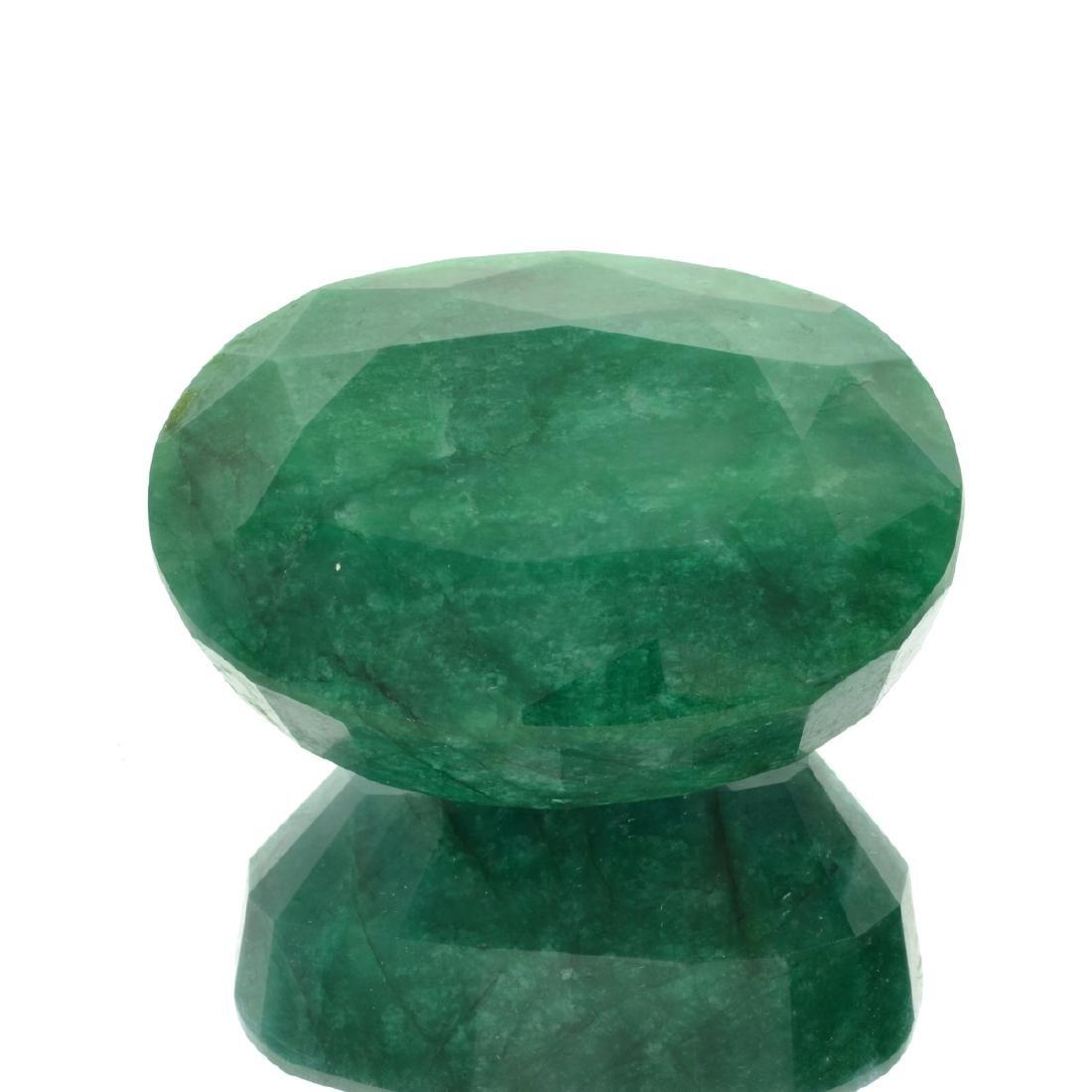 APP: 17.7k 1263.10CT Oval Cut Green Beryl Gemstone