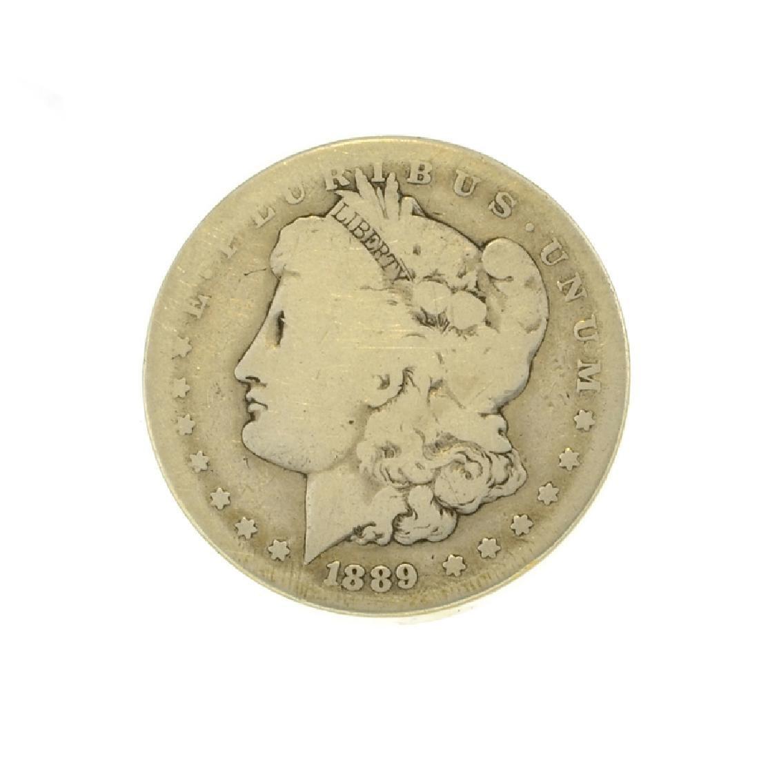 1889-CC Morgan Dollar Coin