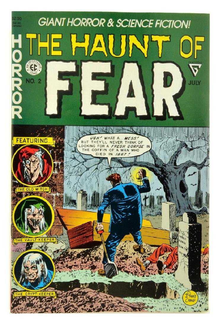 Haunt of Fear (1991 Gladstone) Issue 2