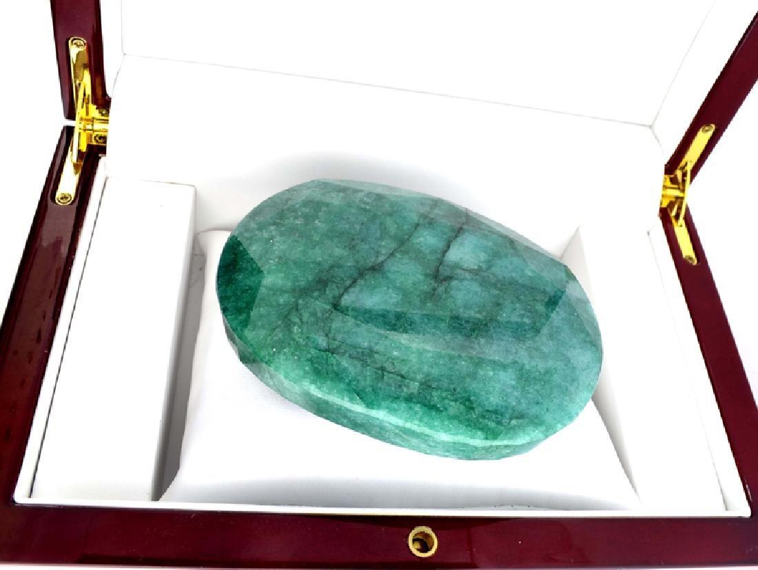 APP: 14.9k 2139.85CT Oval Cut Emerald Green Beryl