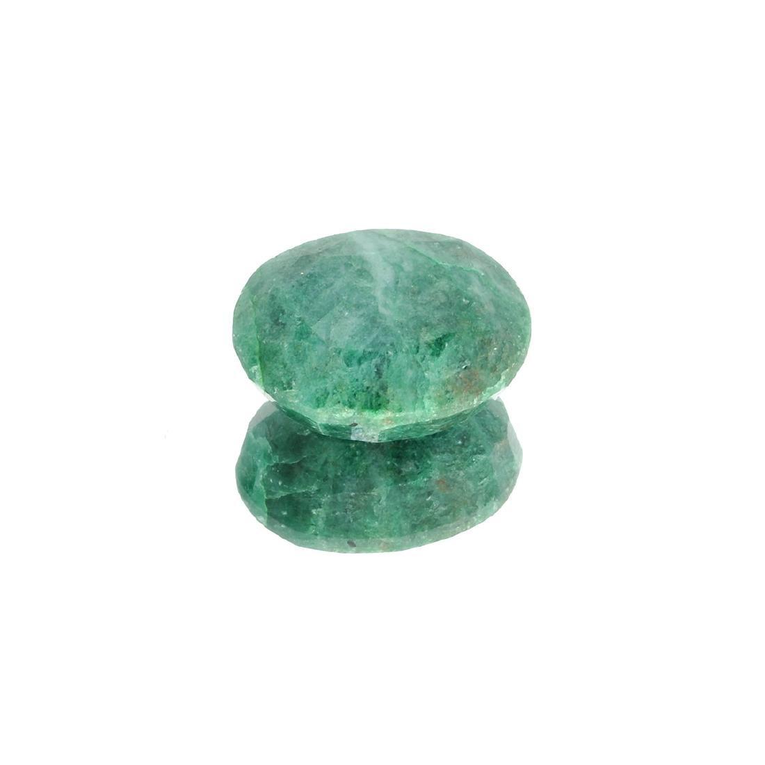 APP: 3.3k 44.63CT Oval Cut Green Emerald Gemstone