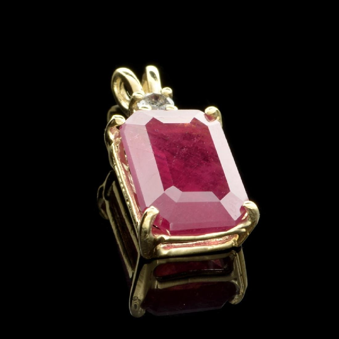 APP: 3.2k Fine Jewelry 14 kt. Gold, 7.04CT Ruby And