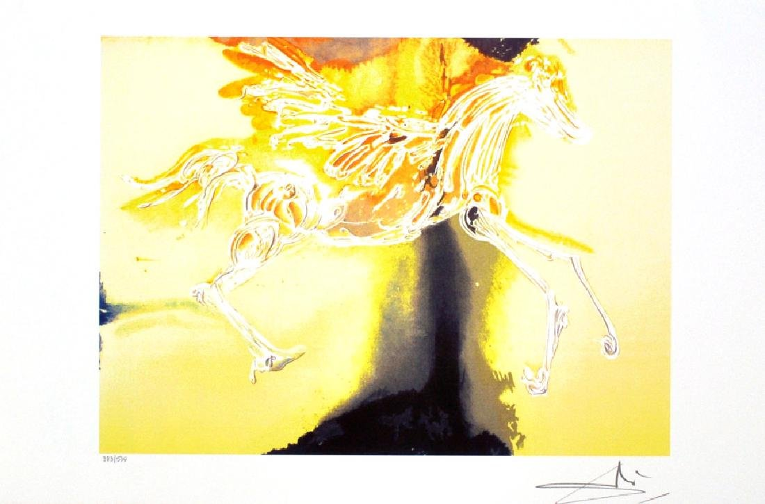 SALVADOR DALI (After) Pegasus Print, I433 of 500
