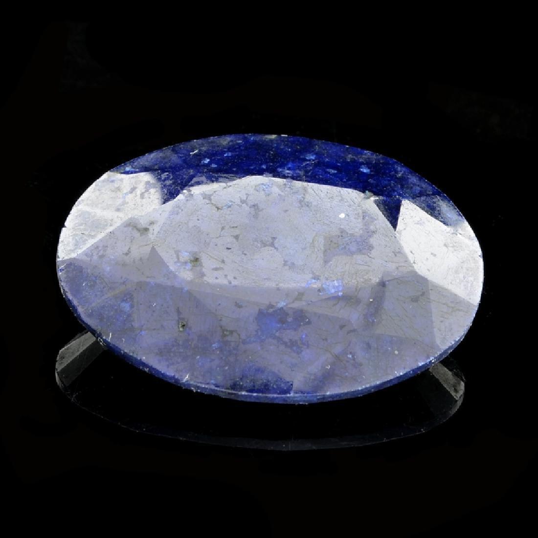 113.30CT Oval Cut Blue Sapphire Gemstone