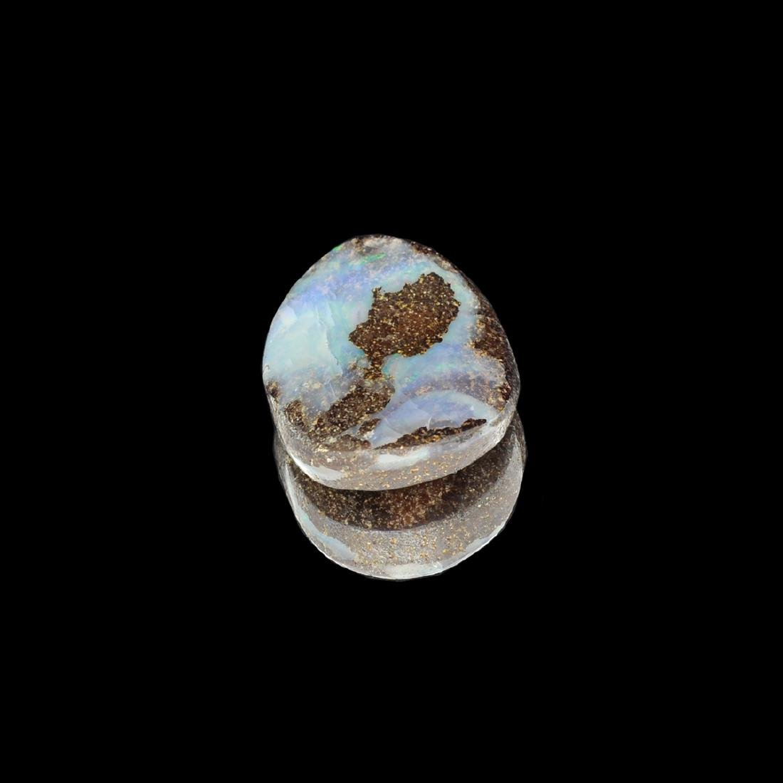 Gorgeous 17.80CT Rare Boulder Opal Gemstone