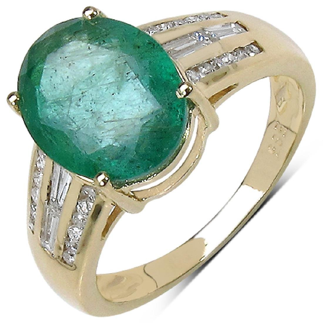 APP: 7.1k *Fine Jewelry 14 kt. Gold, 3.20CT Oval Cut
