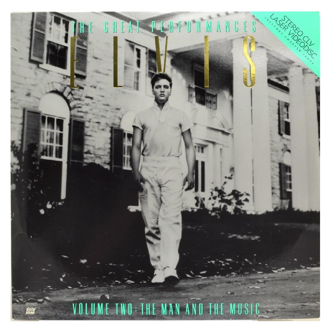 Rare Original Vintage Laser Disc 'Elvis The Great