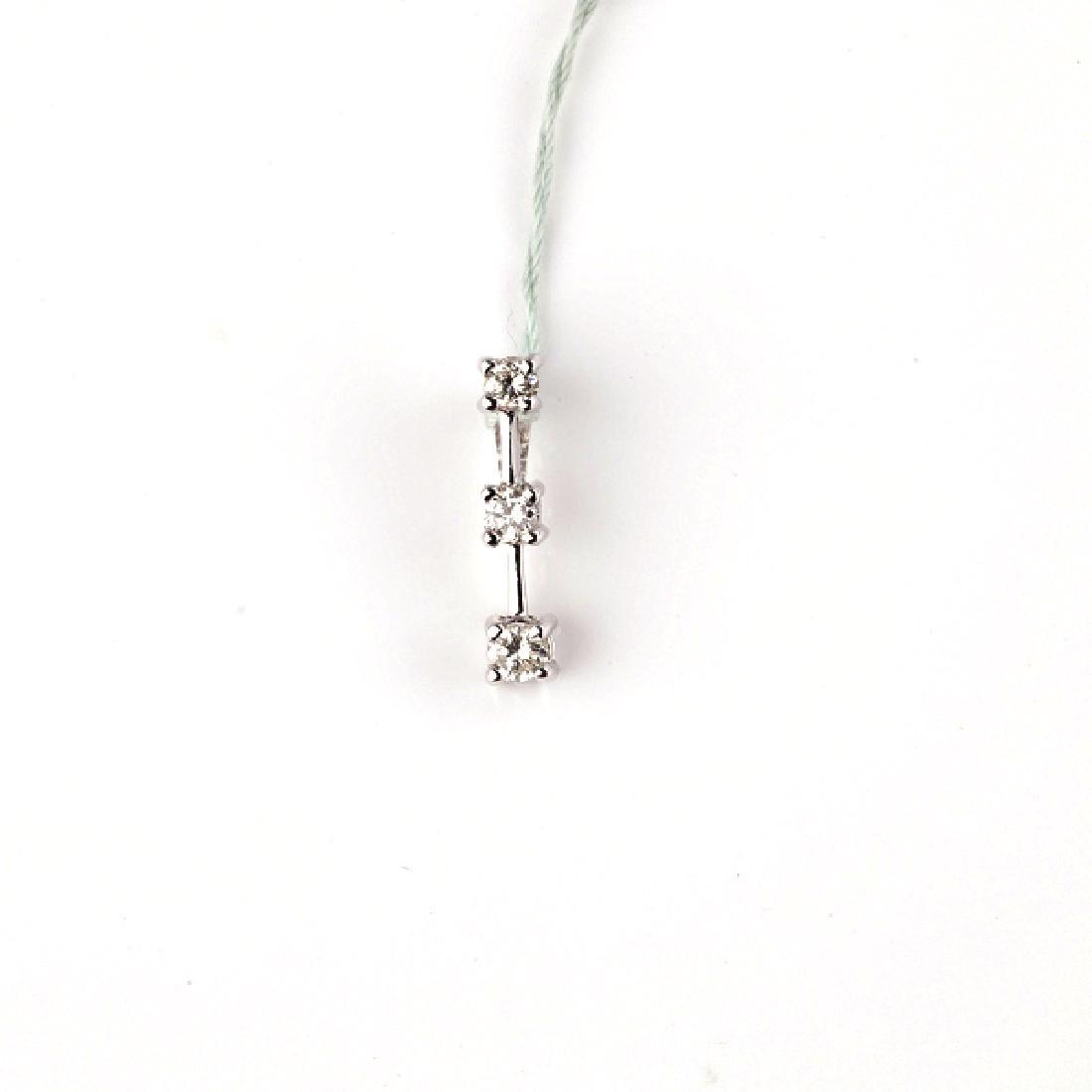 *Fine Jewelry 14 kt. Gold, New Custom Made 0.23CT