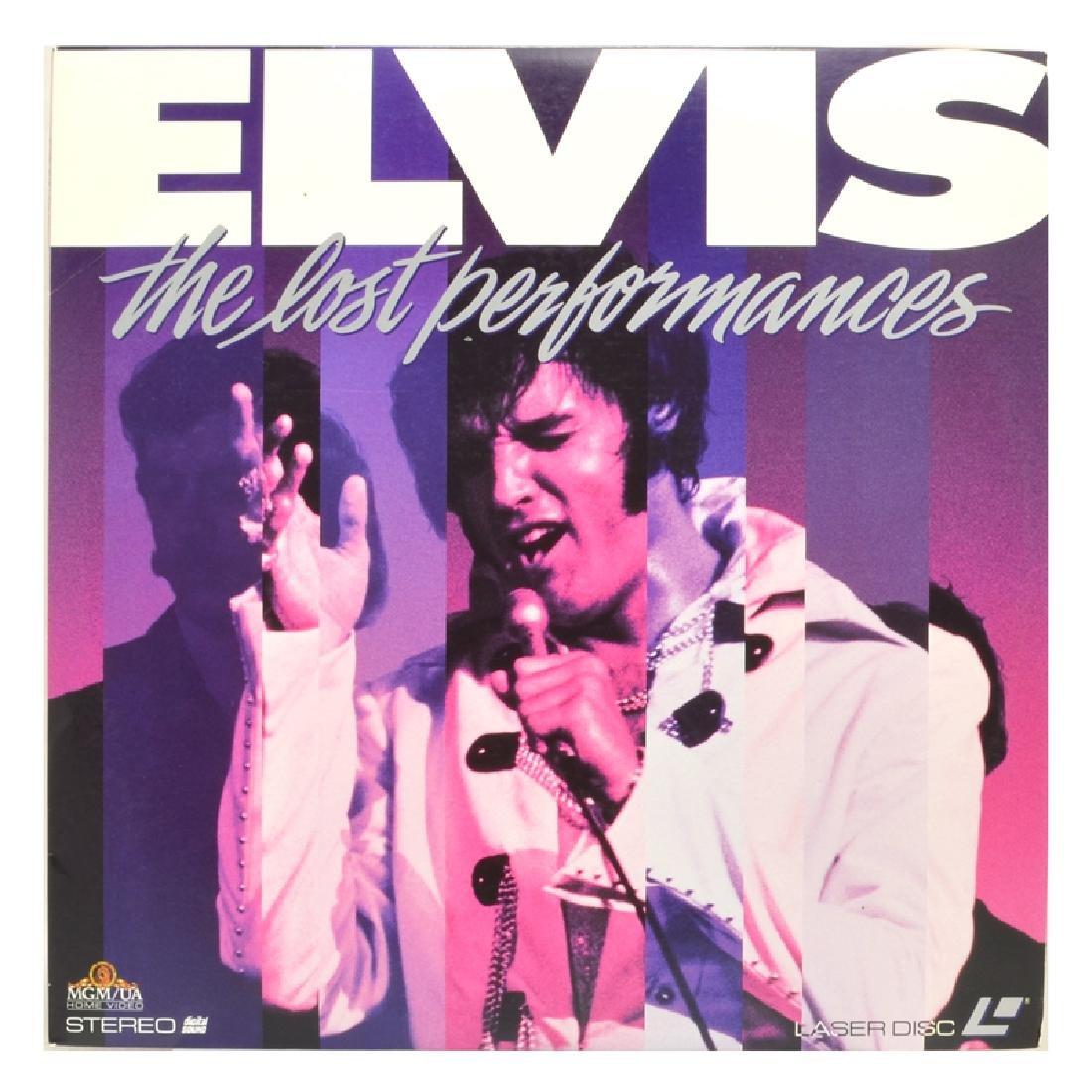 Rare Original Vintage Laser Disc 'Elvis The Lost