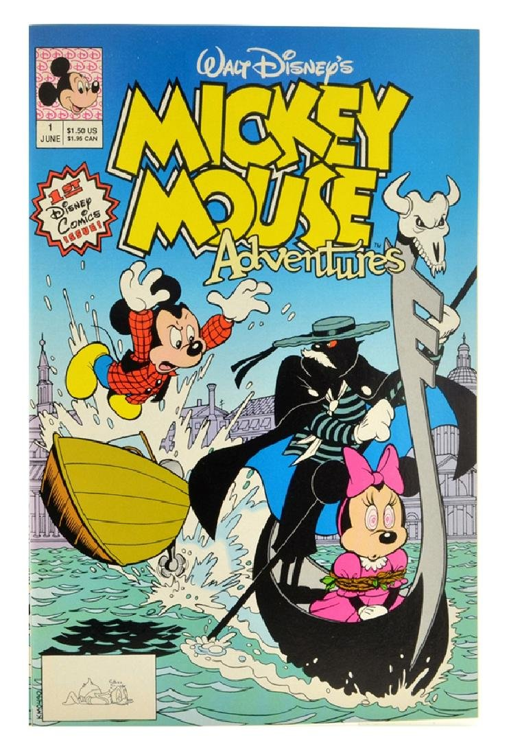 Mickey Mouse Adventures (1990) Issue 1