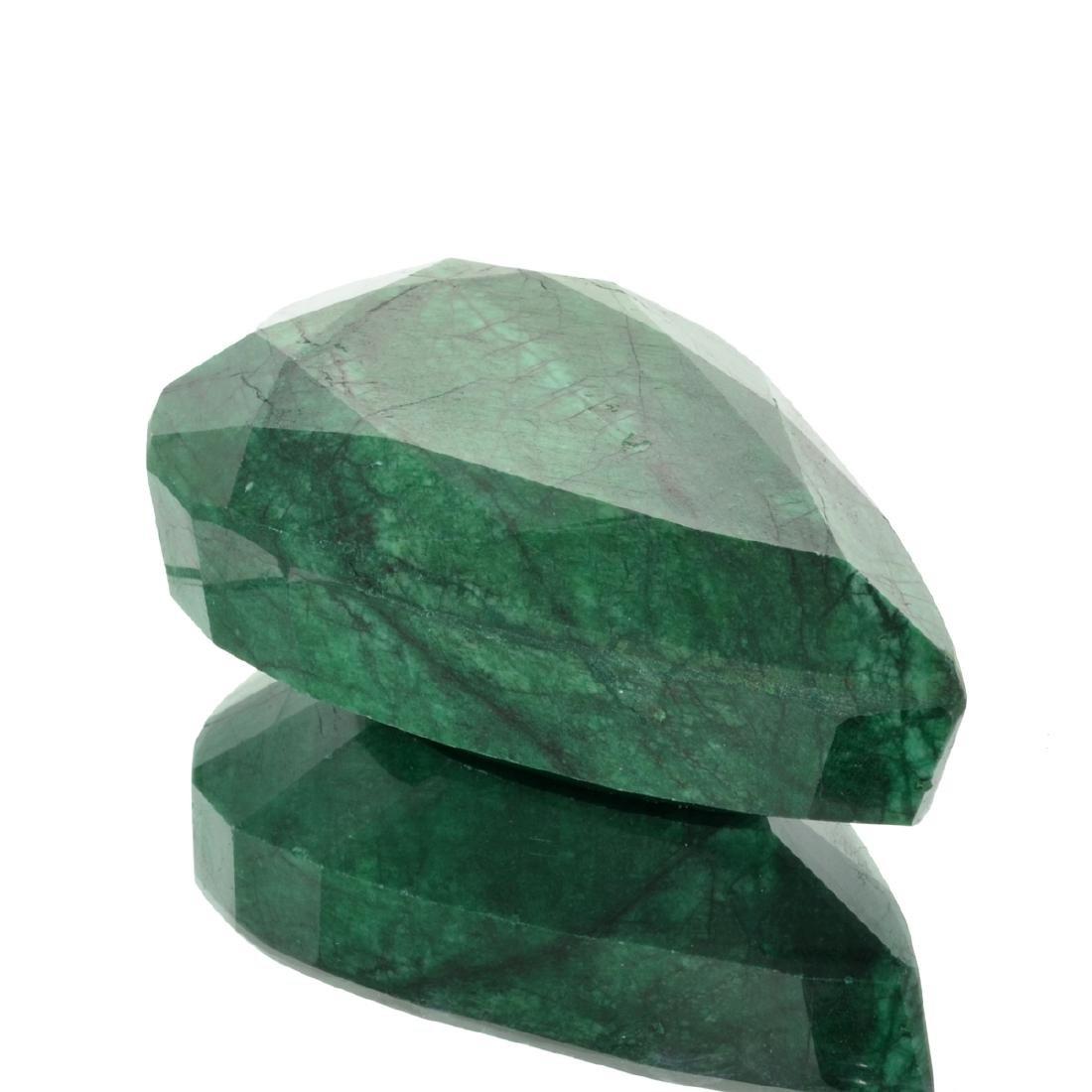 APP: 5.5k 2,211.25CT Pear Cut Green Beryl Emerald