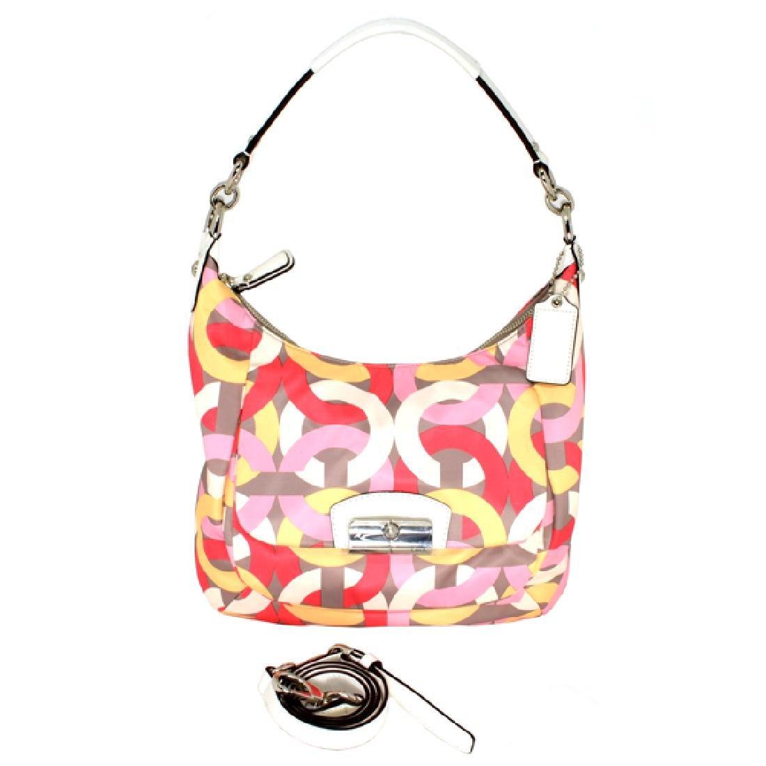 Coach Kristin Chain Link Hobo Handbag