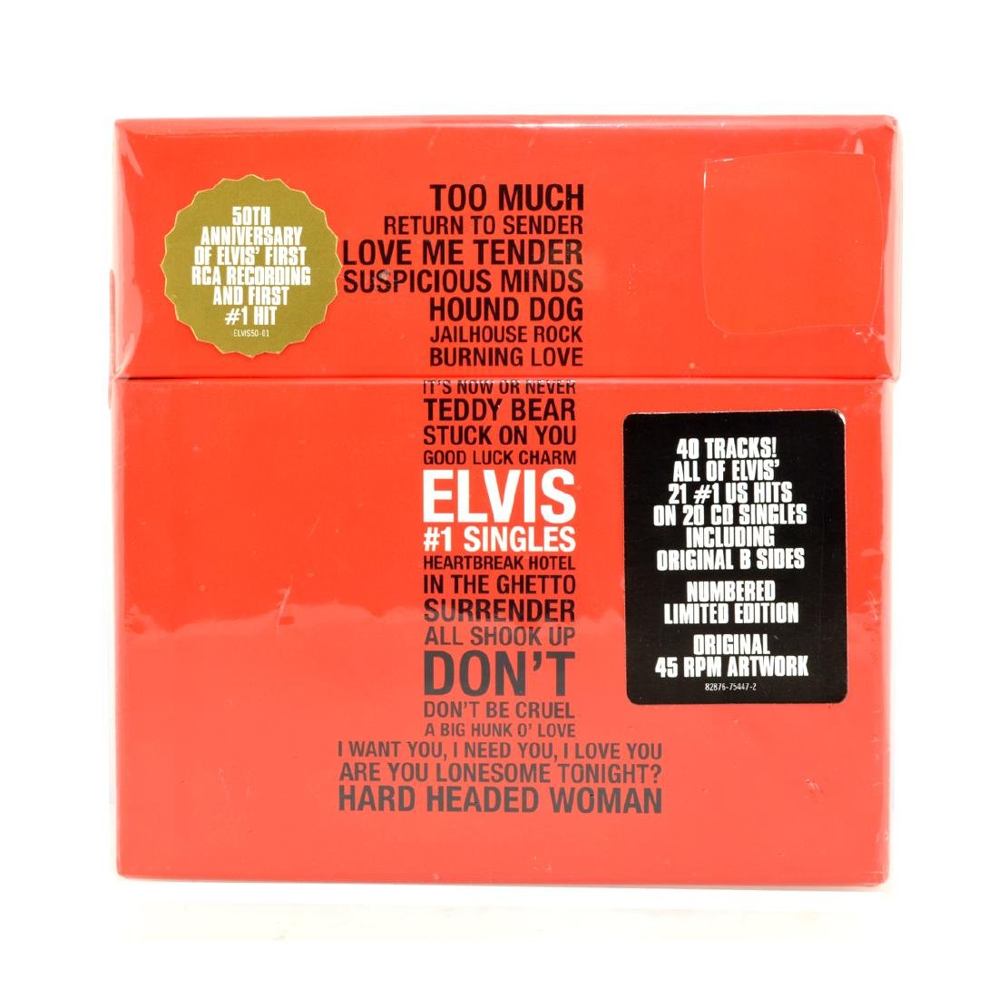 Elvis Presley CD's  #1 Single Box Set, Limited Edition