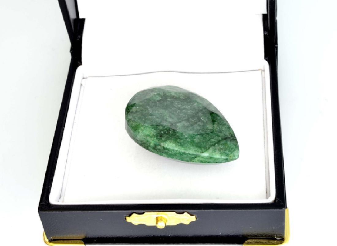 APP: 19.4k 97.15CT Pear Cut Emerald Gemstone