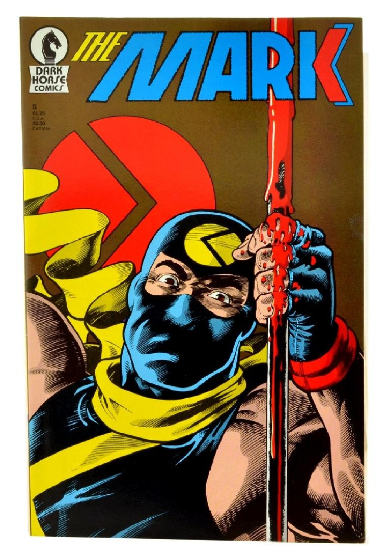 The Mark (1987) Issue 5