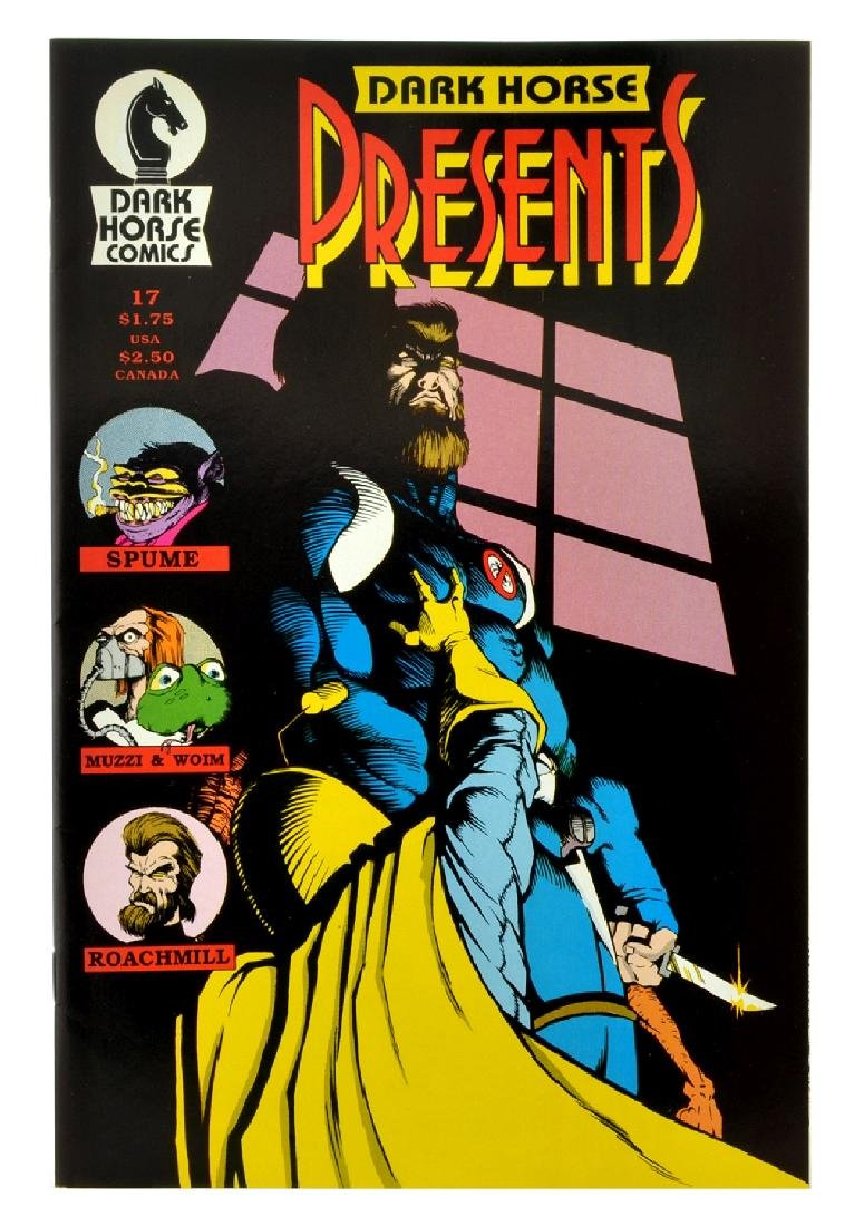 Dark Horse Presents (1986) Issue 17
