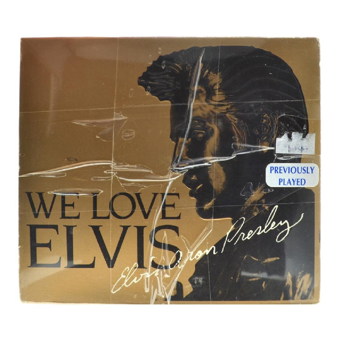 Elvis Presley 3 CD's We Love Elvis