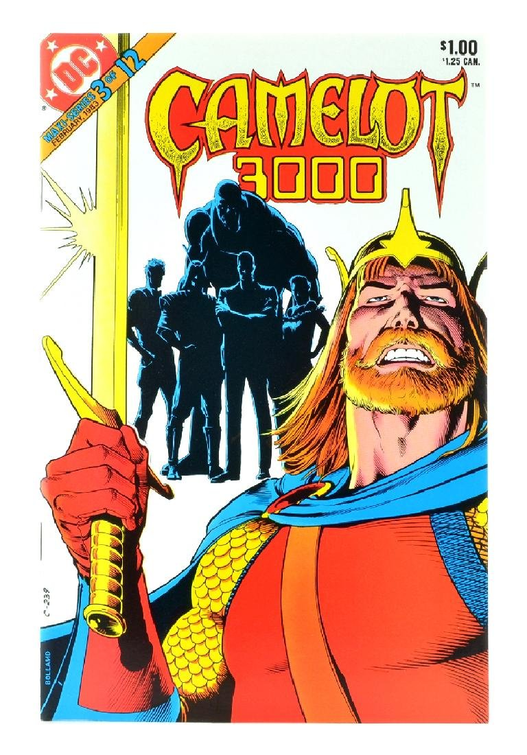 Camelot 3000 (1982) Issue 3