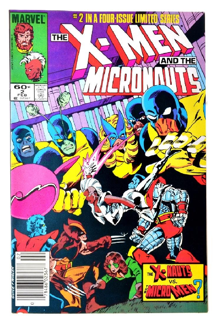 X-Men and the Micronauts (1984) Issue 2