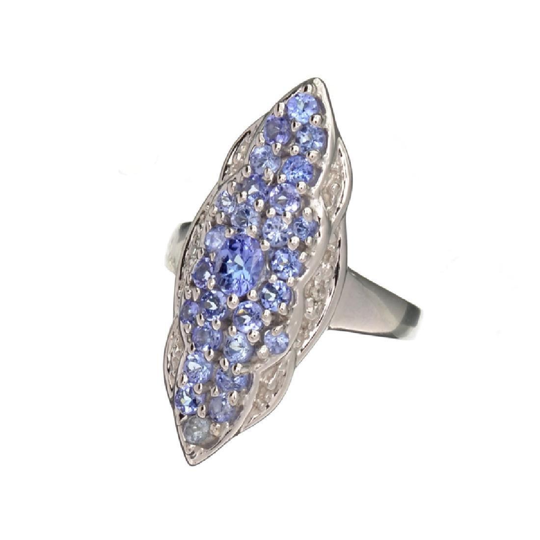 APP: 1.3k Fine Jewelry 0.97CT Oval/Round Cut Tanzanite
