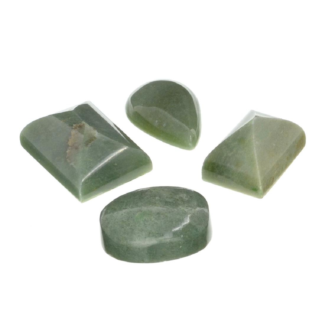 APP: 1.7k 207.44CT Various Shapes And sizes Nephrite
