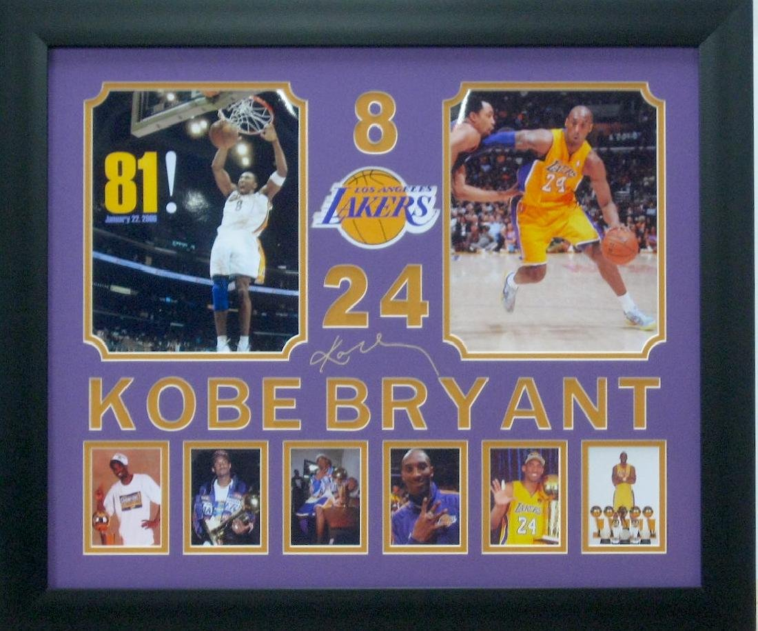 Engraved Kobe Collage