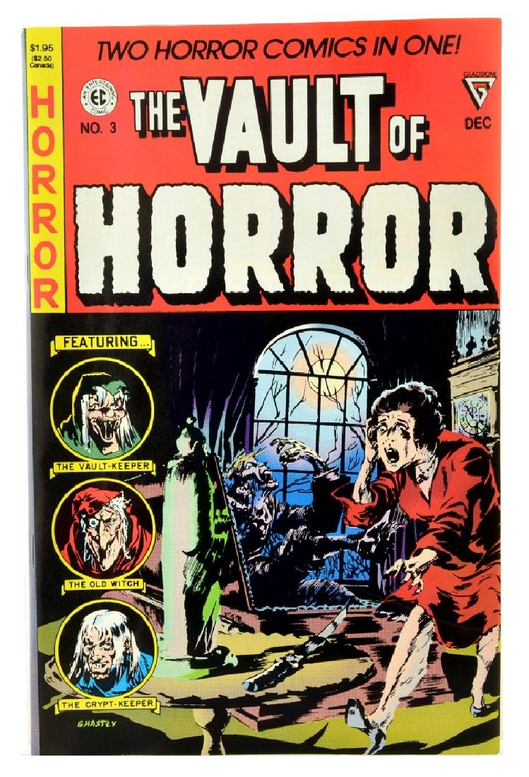 Vault of Horror (1990 Gladstone) Issue 3