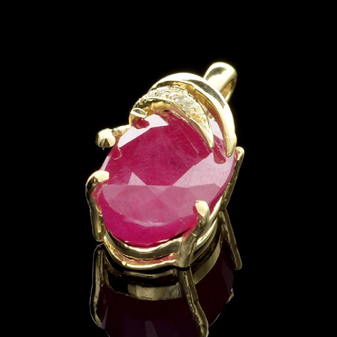 APP: 2.8k Fine Jewelry 14 kt. Gold, 15.39CT Ruby And
