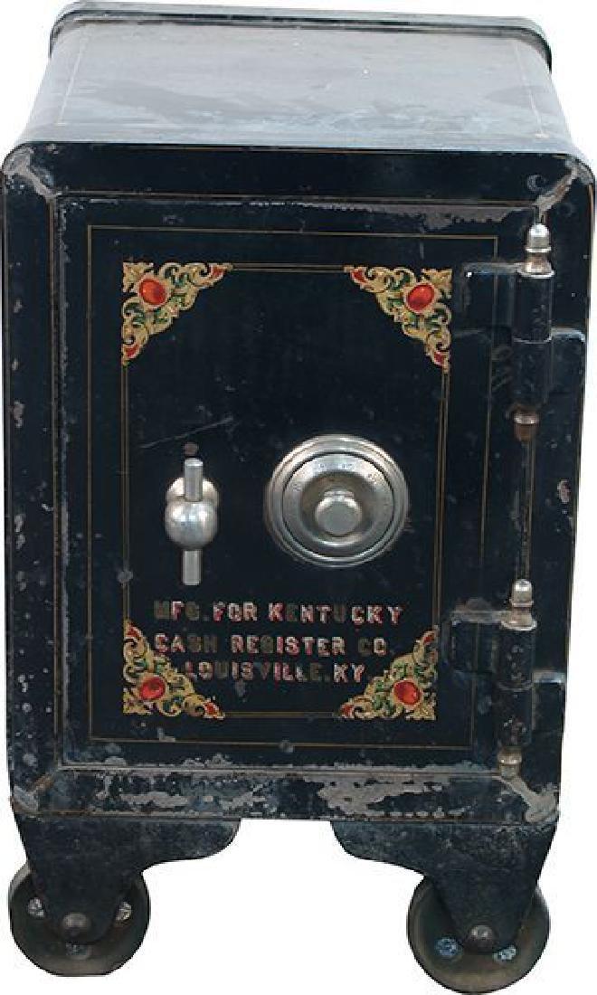 Unrestored Small Safe ''Kentucky Cash Register Co.''