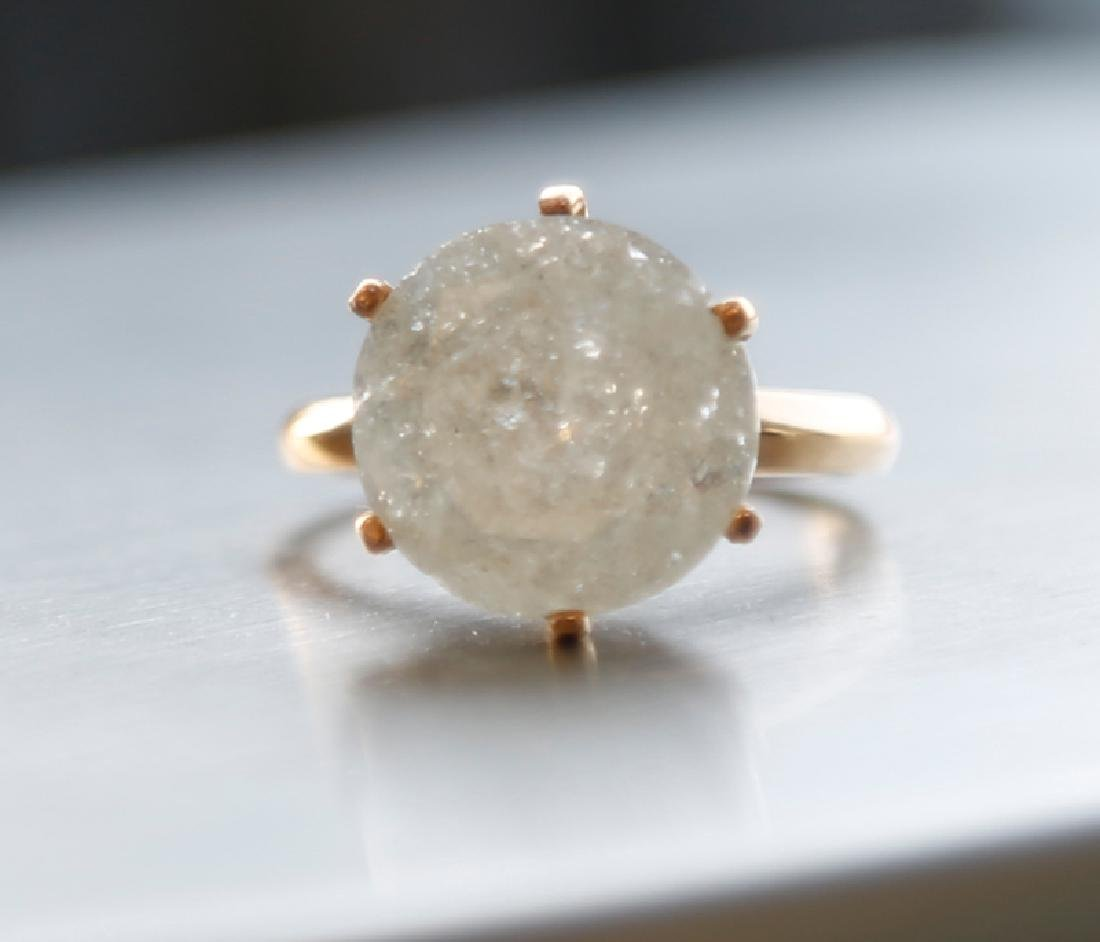 *Fine Jewelry 14 kt. Gold, 10.02CT Round Cut Diamond