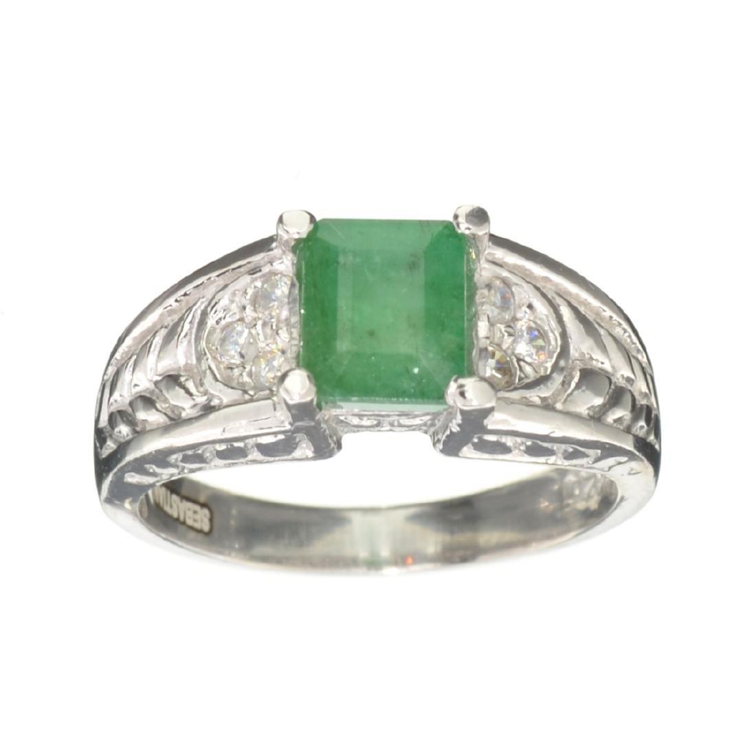 APP: 0.7k Fine Jewelry Designer Sebastian, 1.40CT Green