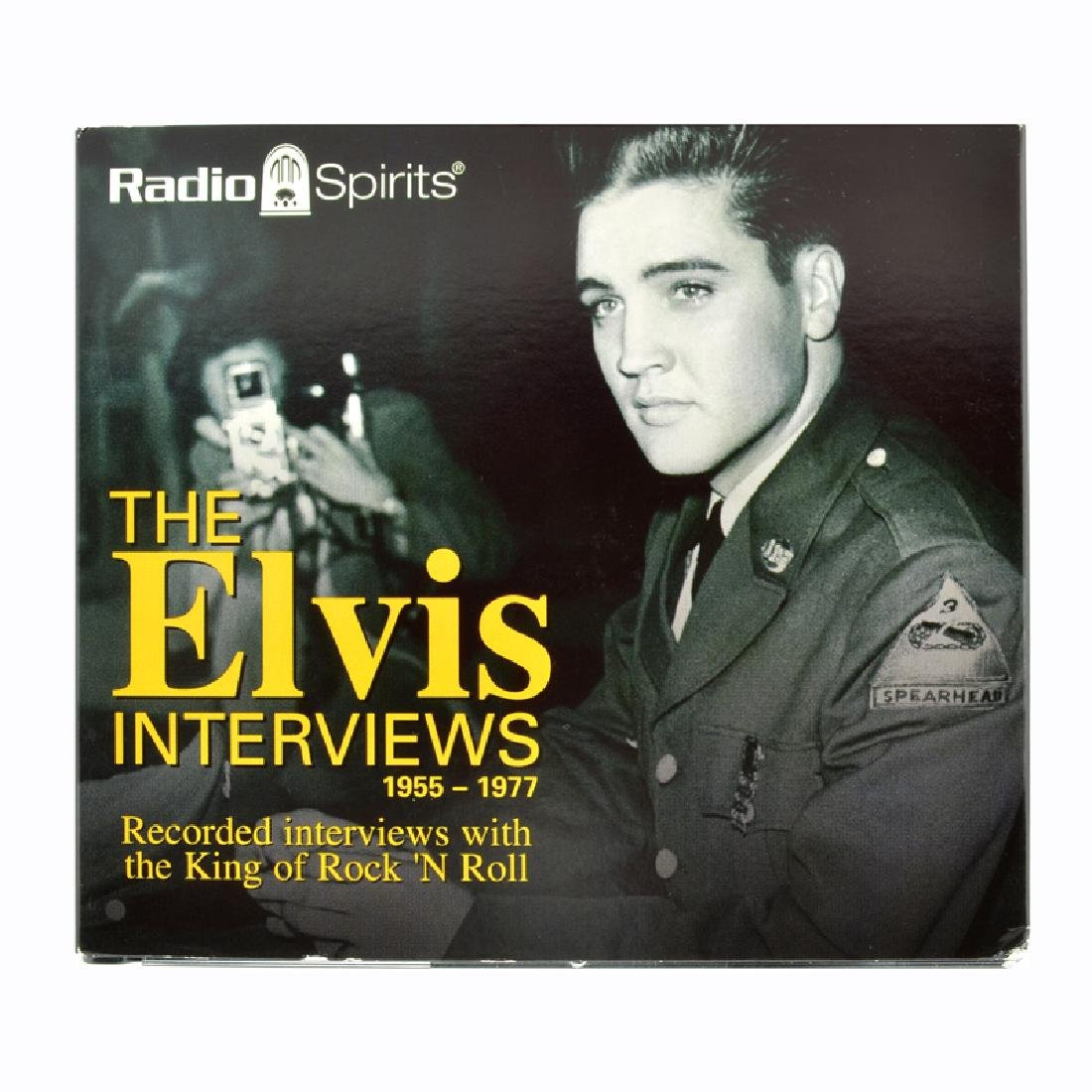 Elvis Presley 5 CD's The Elvis Interviews