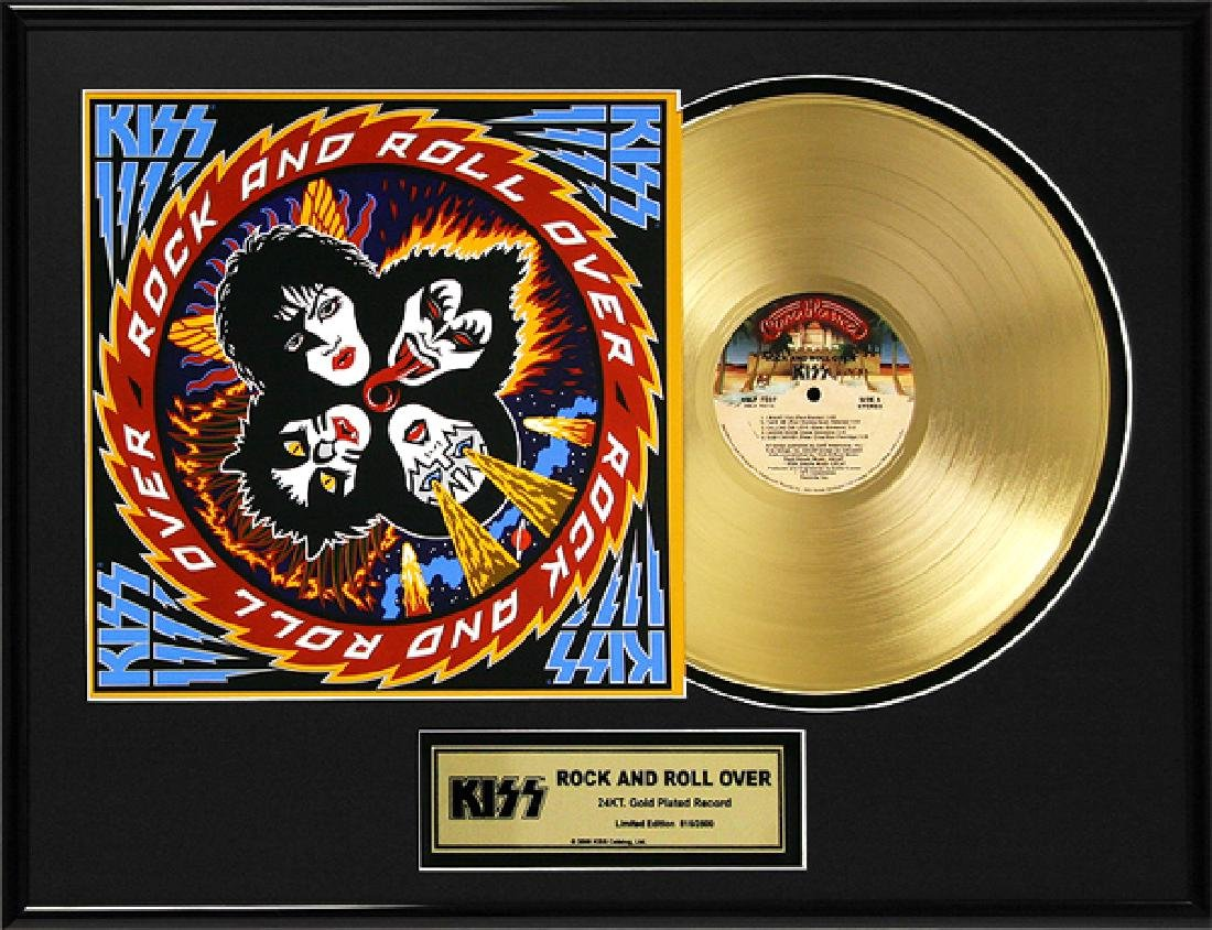 ''Rock and Roll Over'' Gold LP