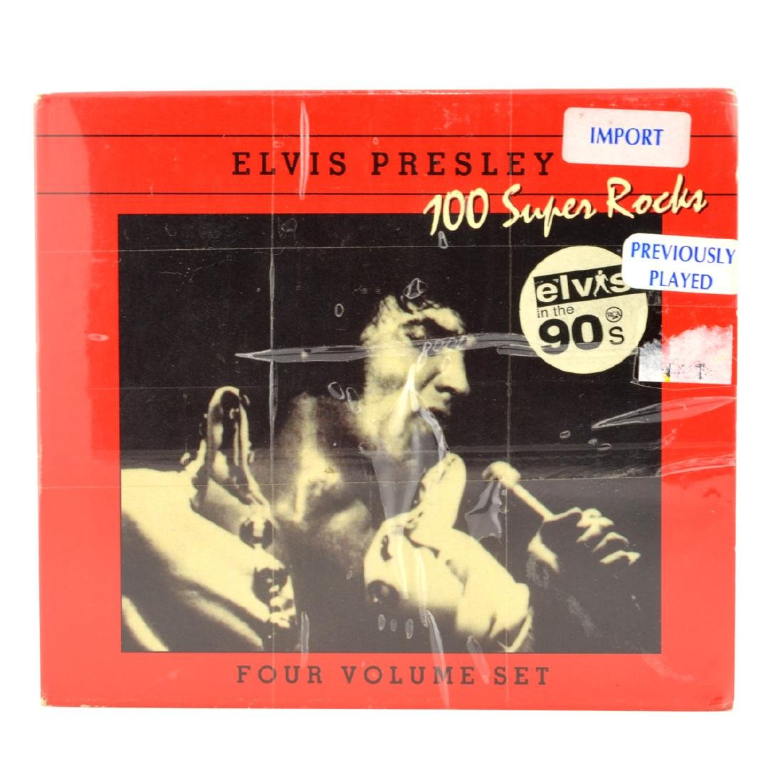 Elvis Presley 4 CD's 100 Super Rocks