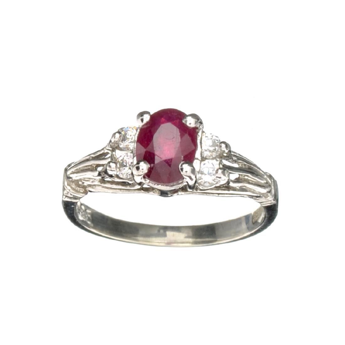 APP: 0.5k Fine Jewelry Designer Sebastian, 1.45CT Ruby
