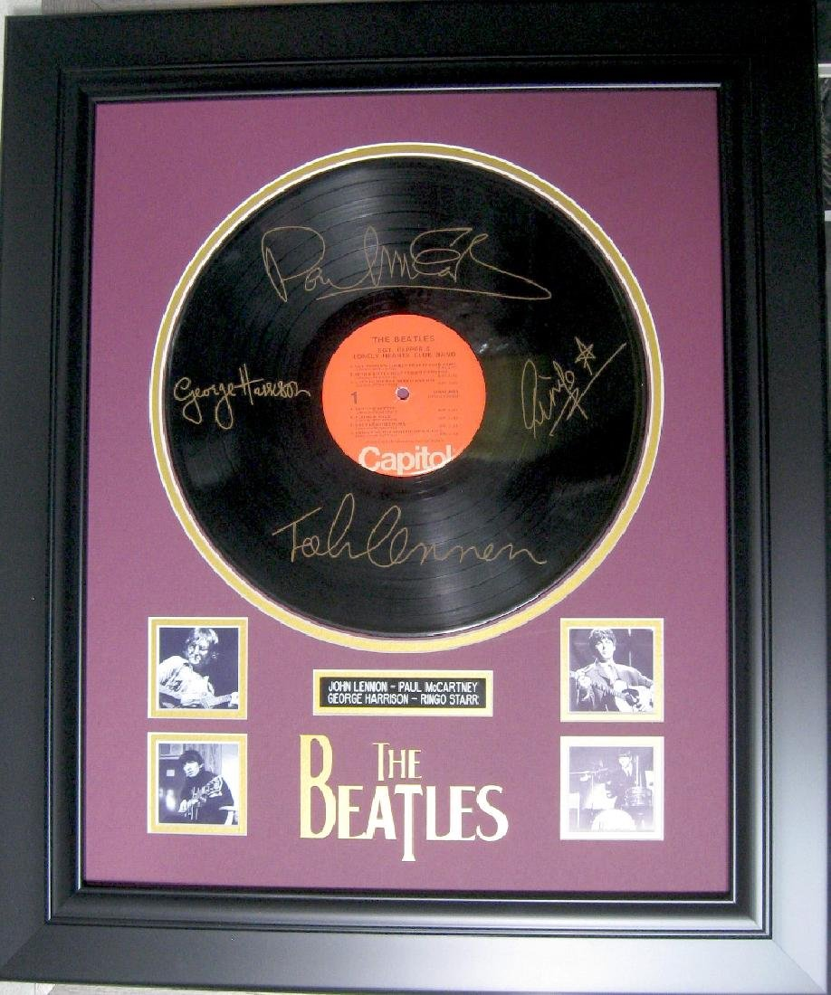 Beatles Album Special - Plate Signatures