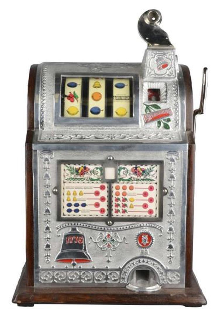 Rare Antique 5¢ Mills Spearmint Operators Bell Slot