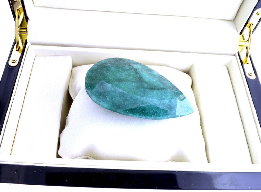 APP: 10.2k 534.75CT Pear Cut Emerald Gemstone
