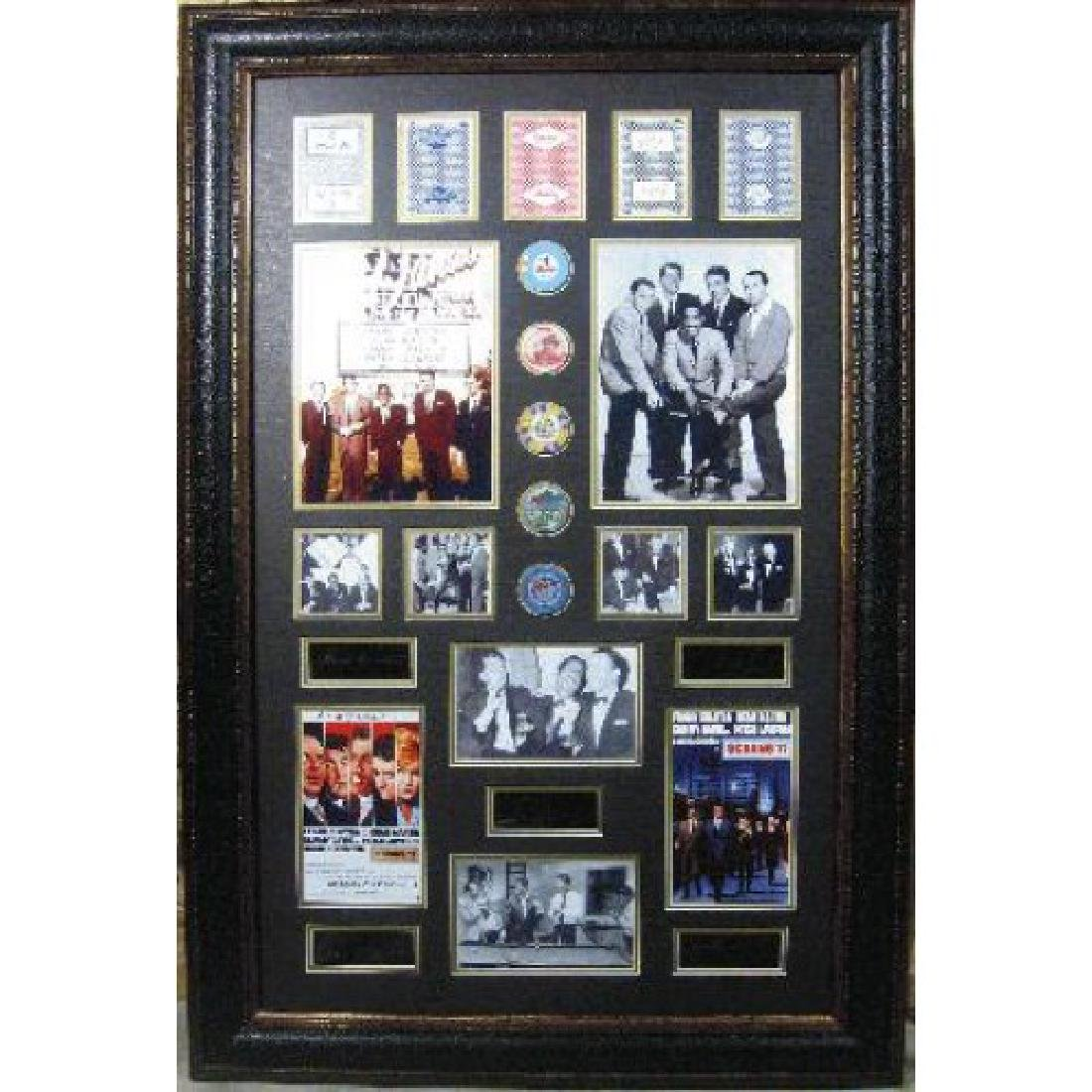 Rat Pack Engraved Real Chips & Cards