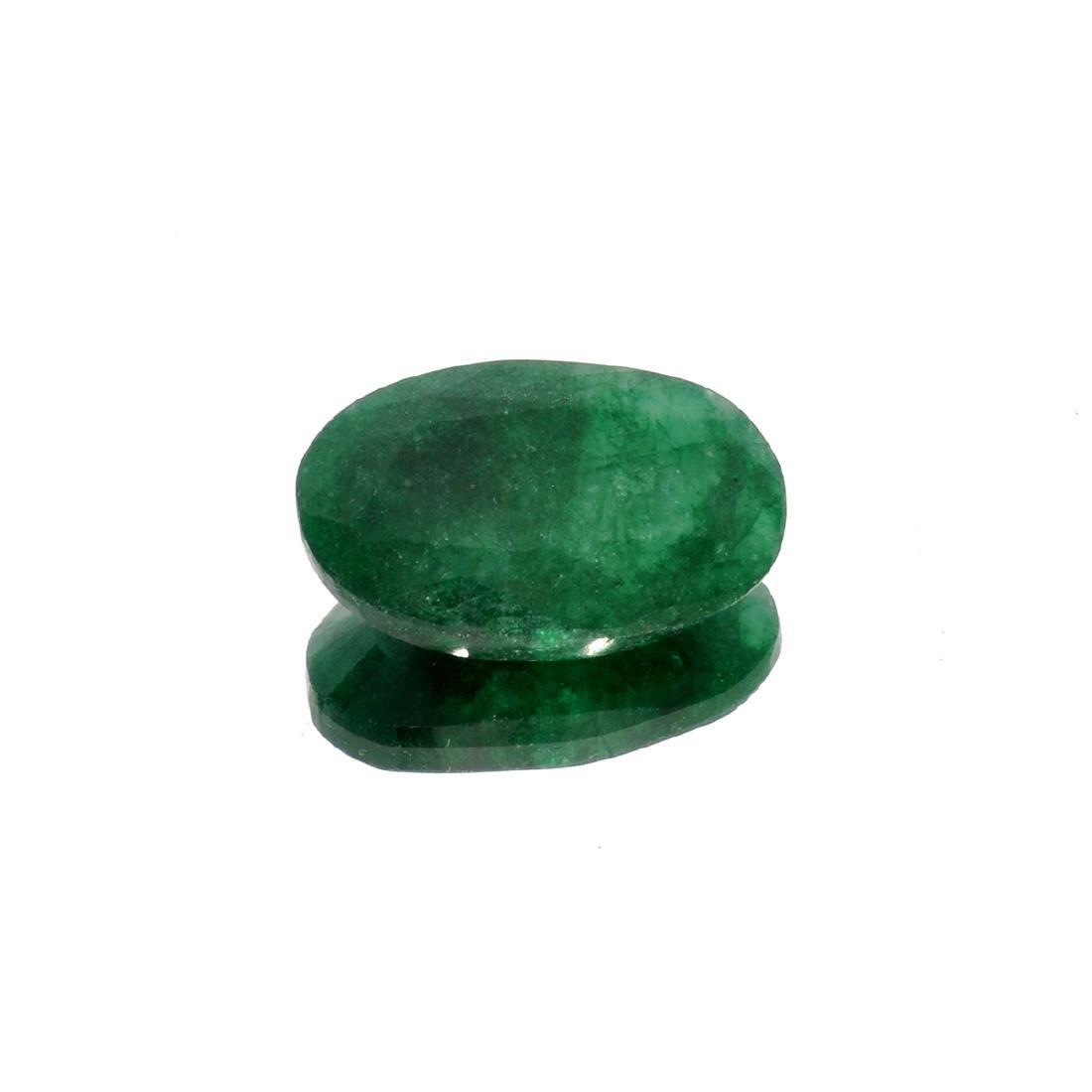 APP: 1.7k 22.81CT Oval Cut Green Emerald Gemstone