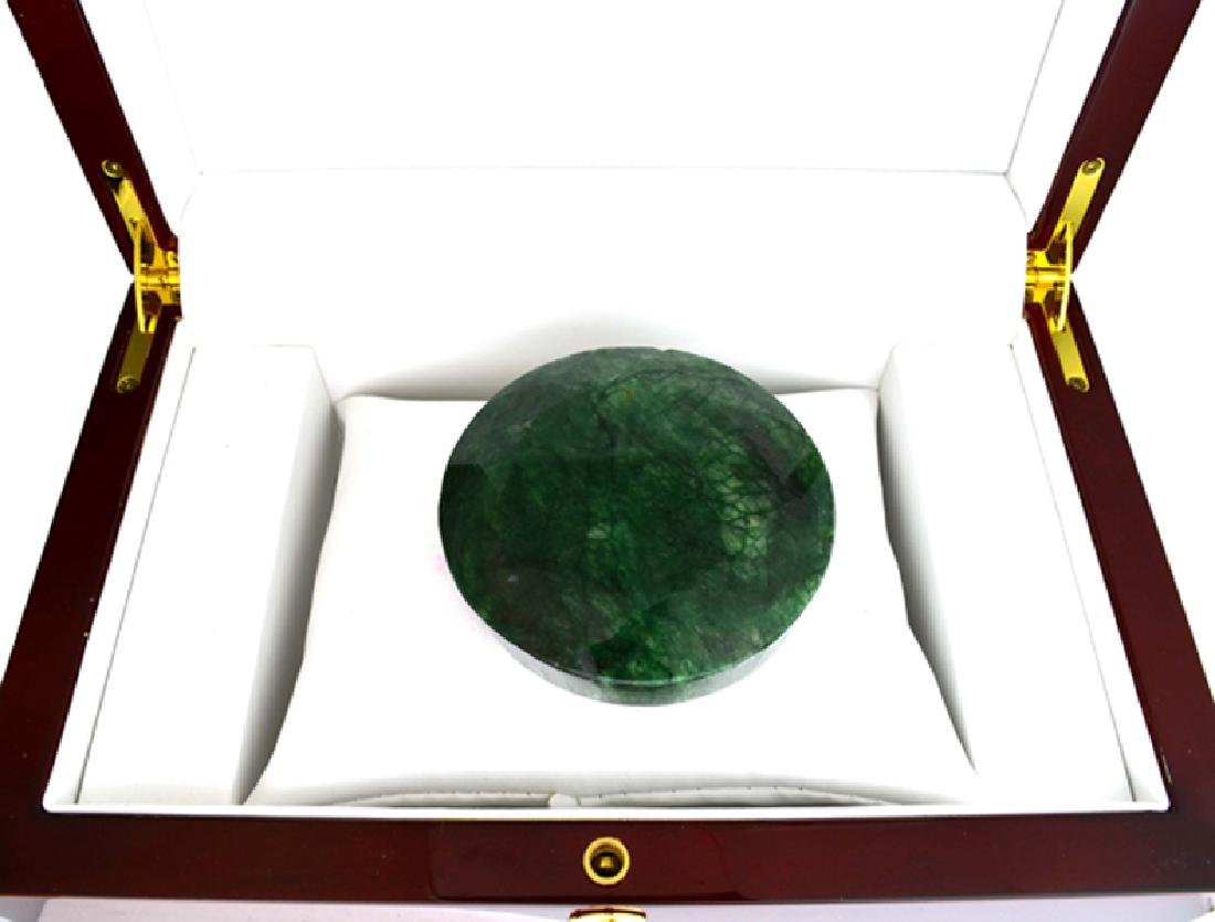 APP: 8k 885.50CT Round Cut Green Beryl Emerald Gemstone