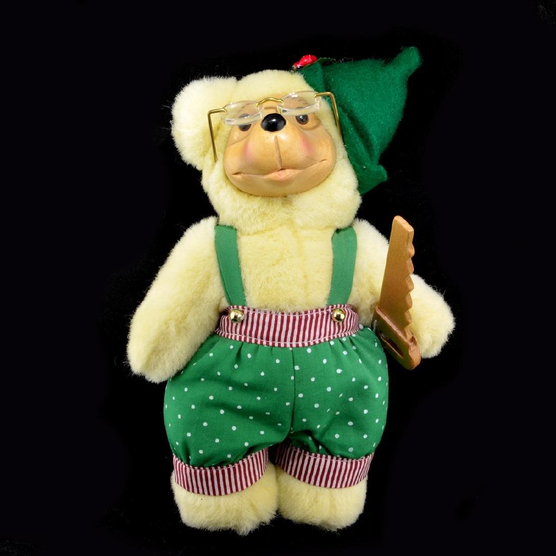 Robert Raikes Christmas Craftsmen Tinker Sawyer Bear